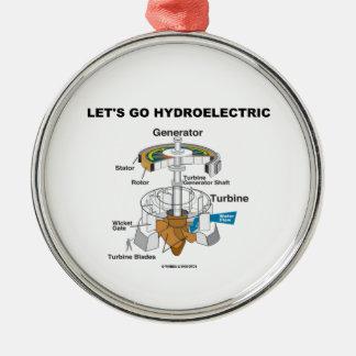 Let s Go Hydroelectric Generator Turbine Christmas Tree Ornaments