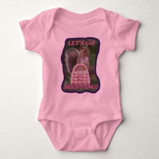 Let's Go Shopping Baby Bodysuit