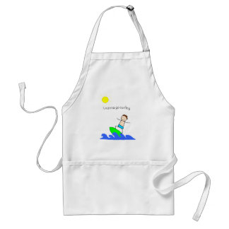 Let s Go Surfing Aprons