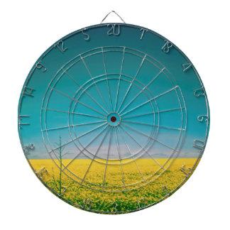 Let's go wait out in the fields dart board