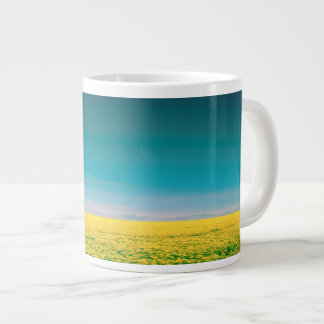 Let's go wait out in the fields giant coffee mug