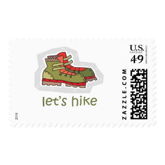 Let s Hike Postage