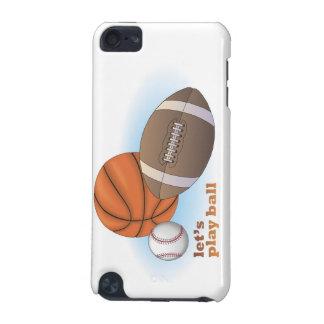 Let s play ball baseball basketball football iPod touch 5G covers