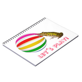 Let´s play! spiral notebook