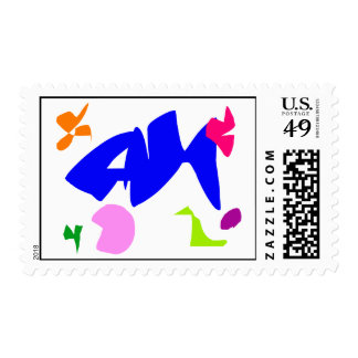 Let's Play with Friends at the Age of 60 Stamps