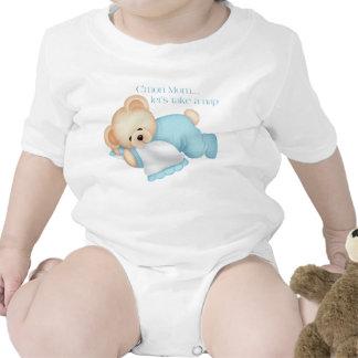 Let s Take A Nap blue - Infant Creeper