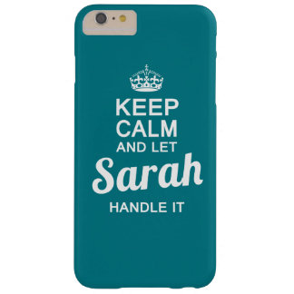 Let Sarah handle it ! Barely There iPhone 6 Plus Case