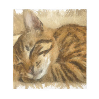 Let Sleeping Cats Lie Notepad