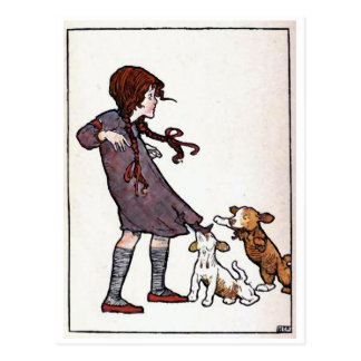 """Let Sleeping Dogs Lie"" Postcard"