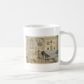 Let Sleeping Dogs Lie Swedish Watercolor Coffee Mug