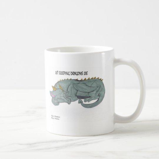 Let Sleeping Dragons Lie mug