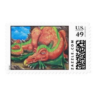 Let Sleeping Dragons Lie Stamp