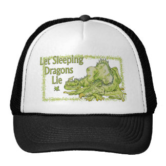 Let Sleeping Dragons Lie Trucker Hat