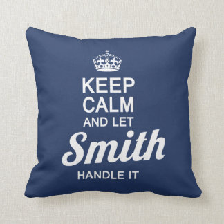 Let SMITH handle it! Throw Pillow