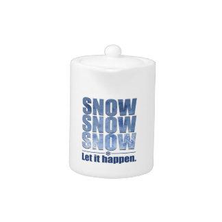 Let Snow Happen