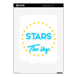 Let stars light up the sky skins for iPad 2