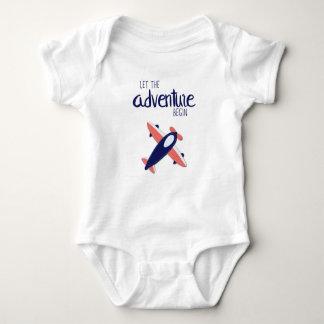 Let the Adventure Begin 02 Baby Bodysuit