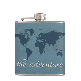 Let the adventure begin flask
