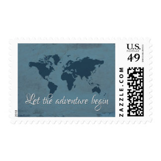 Let the adventure begin postage