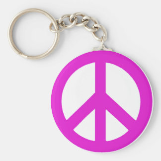 Let the be peace_ keychain