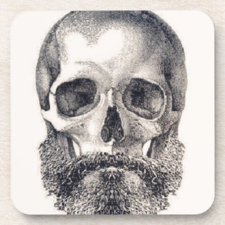 let the beard live forever coaster