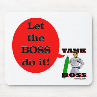 Let the Boss Do It! Mouse Mats