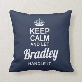 Let the Bradley handle it! Throw Pillow
