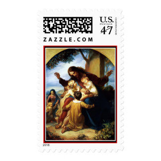 """""""Let the Children Come to Me"""" by Vogelstein Postage"""