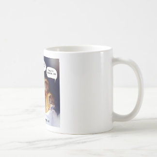 Let the dog out coffee mug