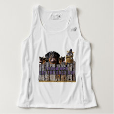 Let The Dogs Out! Tank Top at Zazzle