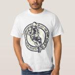 Let the Game Begin Vintage Basketball Design T-Shirt