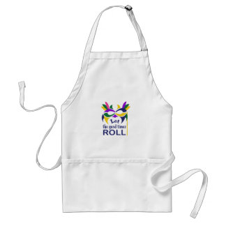 LET THE GOOD TIMES ROLL APRONS