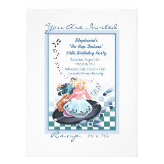 Let The Good Times Roll © Personalized Invite