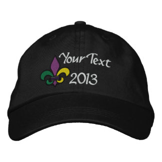 Let the Good Times Roll New Orleans Embroidered Baseball Hat