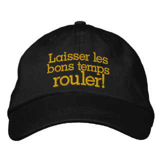 Let the Good Times Roll New Orleans - SRF Embroidered Baseball Cap