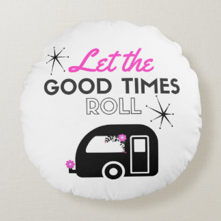 let the good times roll pillow
