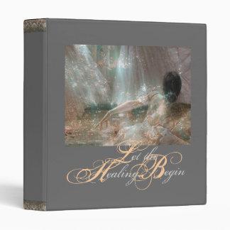 «Let the Healing Begin» Avery Binder