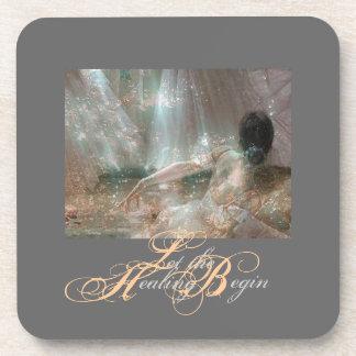 «Let the Healing Begin» Coaster