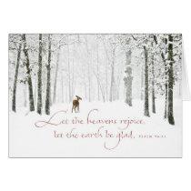 Let the Heavens Rejoice Card