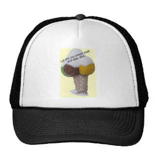 Let the ice-cream melt and stay slim-product. cap