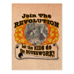 Let the Kids do the Work Postcard