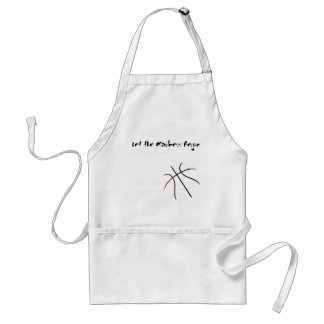 Let the madness Begin Adult Apron