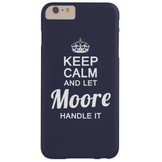 Let the MOORE handle it! Barely There iPhone 6 Plus Case