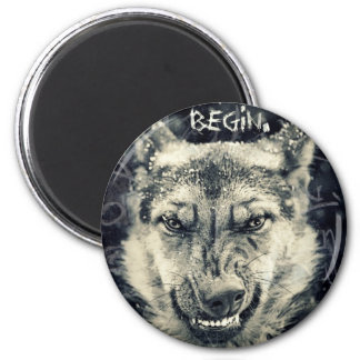 let the night shift beginart magnet