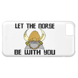 Let The Norse Be With You Cover For iPhone 5C