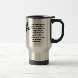 Let the peace of God rule your heart Coffee Mug