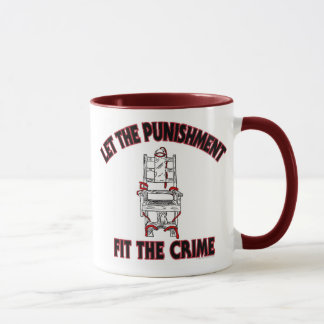 Let the Punishment fir the crime Coffee Mug