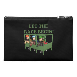 Let The Race Begin Travel Accessory Bag