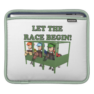 Let The Race Begin Sleeves For iPads