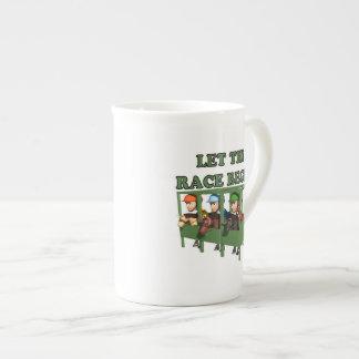 Let The Race Begin Tea Cup